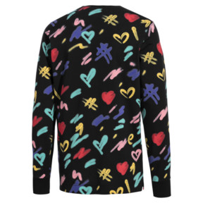 Thumbnail 4 of PUMA x BRADLEY THEODORE Long Sleeve Men's Tee, Puma Black-AOP, medium