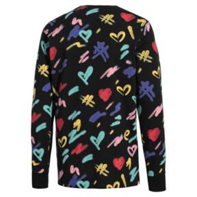Imagen en miniatura 4 de Camiseta de manga larga de hombre PUMA x BRADLEY THEODORE, Puma Black-AOP, mediana