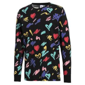 Thumbnail 1 of T-shirt à manches longues PUMA x BRADLEY THEODORE pour homme, Puma Black-AOP, medium