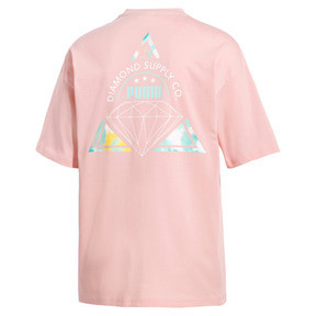 Thumbnail 4 of T-Shirt PUMA x DIAMOND pour homme, Peach Bud, medium