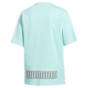 Thumbnail 5 of PUMA x DIAMOND Tシャツ, ARUBA BLUE, medium-JPN