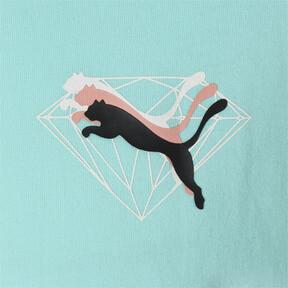 Thumbnail 6 of PUMA x DIAMOND Tシャツ, ARUBA BLUE, medium-JPN