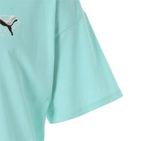 Thumbnail 7 of PUMA x DIAMOND Tシャツ, ARUBA BLUE, medium-JPN