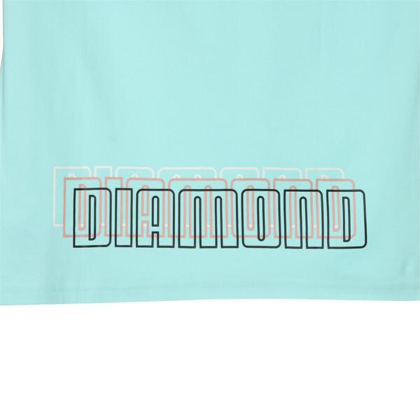 PUMA x DIAMOND Tシャツ, ARUBA BLUE, large-JPN