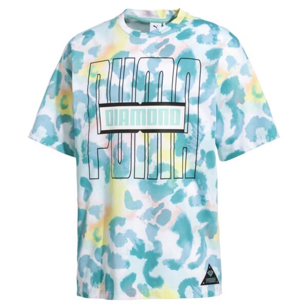 PUMA x DIAMOND AOP Herren T-Shirt, -Puma White, large