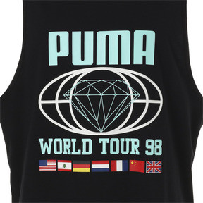 Thumbnail 10 of PUMA x DIAMOND タンク, Puma Black, medium-JPN