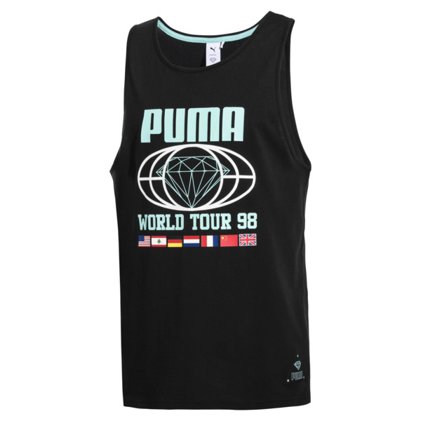 PUMA x DIAMOND Herren Tank-Top, Puma Black, large