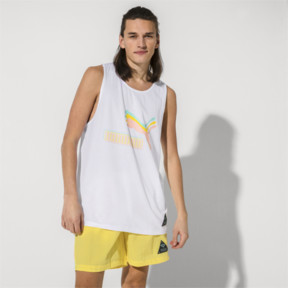 Thumbnail 2 of PUMA x DIAMOND Men's Tank Top, Puma White, medium
