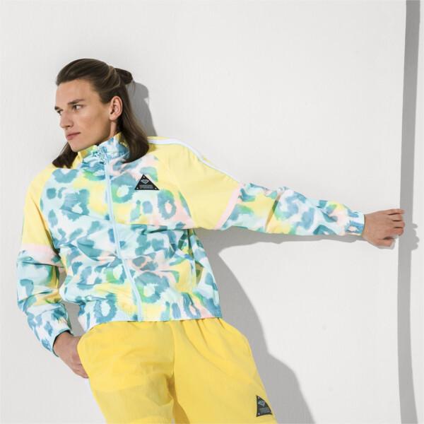 PUMA x DIAMOND XTG Men's Track Jacket, Puma White--AOP, large