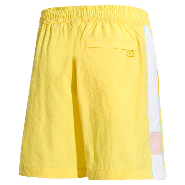 PUMA x DIAMOND Men's Shorts, Lemon Zest, large