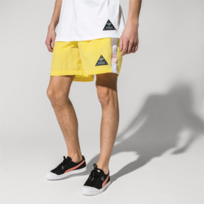Thumbnail 2 of PUMA x DIAMOND Men's Shorts, Lemon Zest, medium