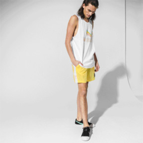 Thumbnail 5 of PUMA x DIAMOND Men's Shorts, Lemon Zest, medium