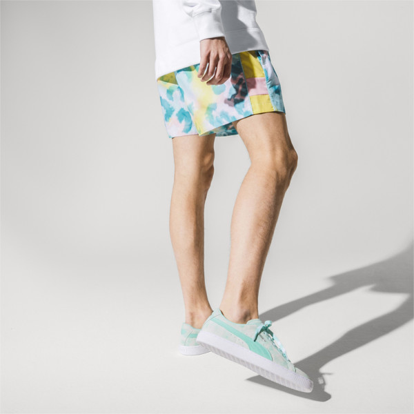 PUMA x DIAMOND SUPPLY CO. Men's Shorts, -Puma White AOP, large