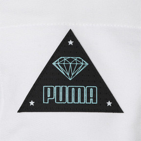 Thumbnail 6 of PUMA x DIAMOND SS スウェット フーディー (半袖), Puma White, medium-JPN