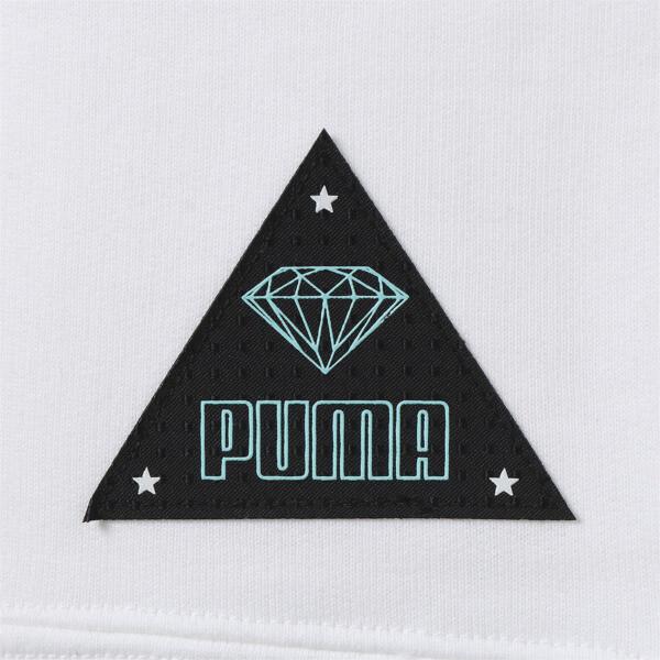 PUMA x DIAMOND クルースウェット, Puma White-AOP, large-JPN