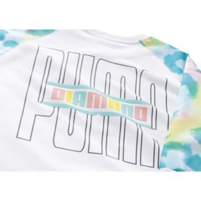 Thumbnail 6 of PUMA x DIAMOND Rundhals-Pullover, Puma White-AOP, medium