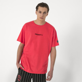 Miniaturka 2 Męska koszula z krótkim rękawem PUMA x HAN KJØBENHAVN, Kolor Cayenne, średnie