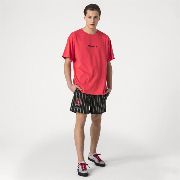 Męska koszula z krótkim rękawem PUMA x HAN KJØBENHAVN, Kolor Cayenne, obszerny