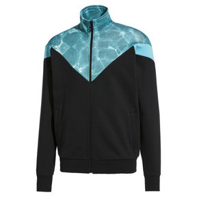 Thumbnail 1 of MCS Pool Men's Track Jacket, Puma Black, medium