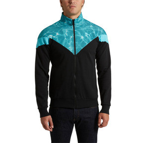Thumbnail 2 of MCS Pool Men's Track Jacket, Puma Black, medium