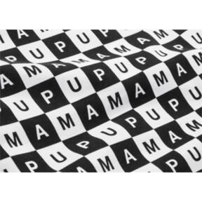 Thumbnail 7 of CHECKBOARD T7 HOODIE, Puma Black-Puma White - AOP, medium-JPN