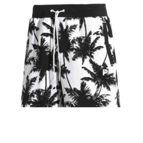 Thumbnail 1 of Palm Tree Men's Shorts, Puma Black--Plam TreeAOP, medium