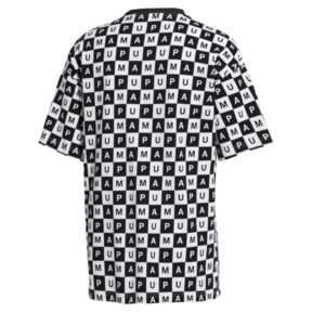 Thumbnail 3 of Checkboard AOP Tee, Puma White--AOP, medium