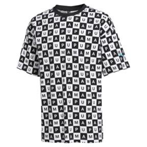 Thumbnail 1 of Checkboard AOP Tee, Puma White--AOP, medium