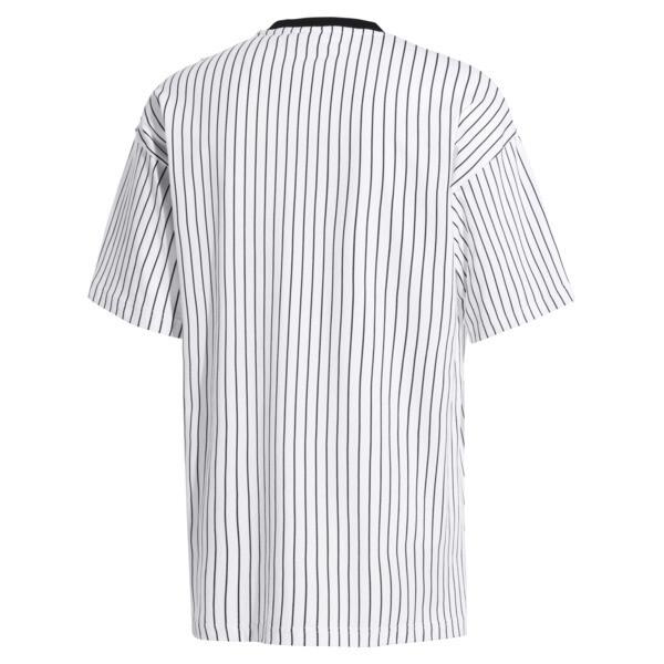 Striped Men's Tee, Puma Black-AOP, large
