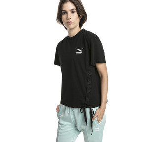 Thumbnail 2 of Crush Short Sleeve Women's Tee, Puma Black, medium