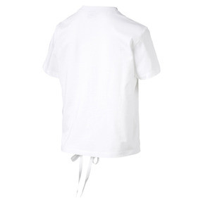 Thumbnail 4 of Crush Short Sleeve Women's Tee, Puma White, medium