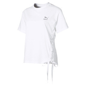 Thumbnail 1 of Crush Short Sleeve Women's Tee, Puma White, medium
