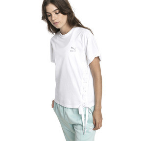 Thumbnail 2 of Crush Short Sleeve Women's Tee, Puma White, medium
