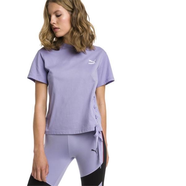 Crush Short Sleeve Women's Tee, Sweet Lavender, large