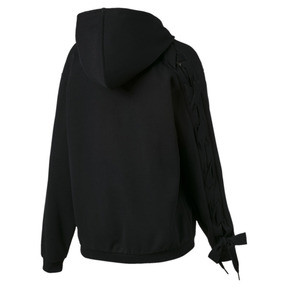 Thumbnail 4 of Crush Full Zip Women's Hoodie, Puma Black, medium