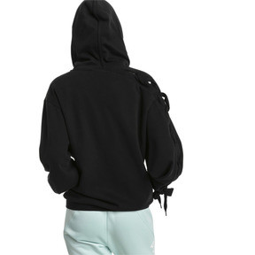 Thumbnail 3 of Crush Full Zip Women's Hoodie, Puma Black, medium
