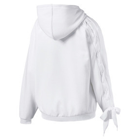Thumbnail 5 of Crush Damen Sweatjacke mit Kapuze, Puma White, medium