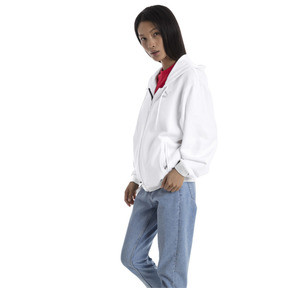 Thumbnail 1 of Blouson de survêtement à capuche Crush pour femme, Puma White, medium