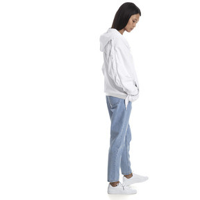 Thumbnail 3 of Crush Full Zip Women's Hoodie, Puma White, medium