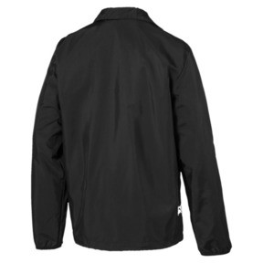 Thumbnail 2 of Downtown Full Zip Men's Track Jacket, Puma Black, medium