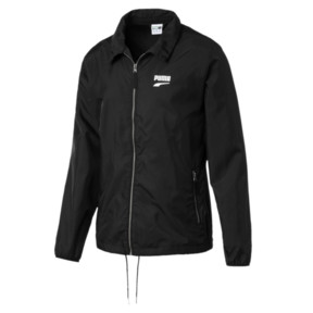 Thumbnail 1 of Downtown Full Zip Men's Track Jacket, Puma Black, medium