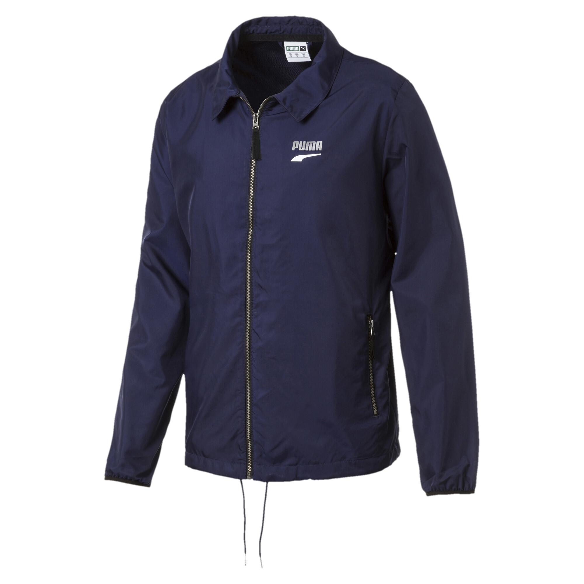 Image Puma Downtown Full Zip Men's Track Jacket #1