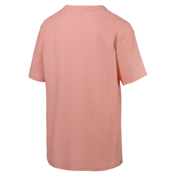 Downtown T-shirt voor heren, Peach Bud, large