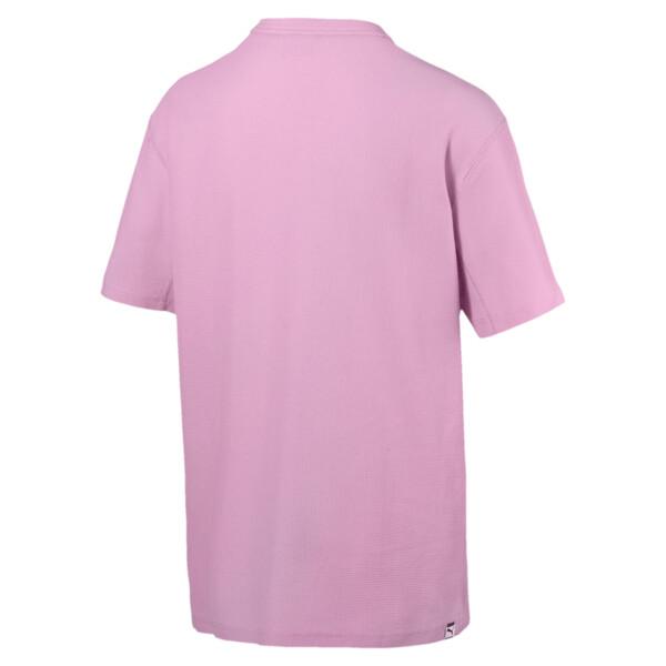 Downtown T-shirt voor heren, Bleekroze, large