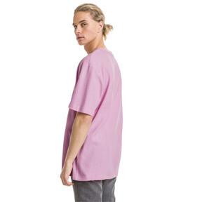 Thumbnail 3 van Downtown T-shirt voor heren, Bleekroze, medium