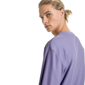 Thumbnail 3 of Downtown Men's Tee, Sweet Lavender, medium