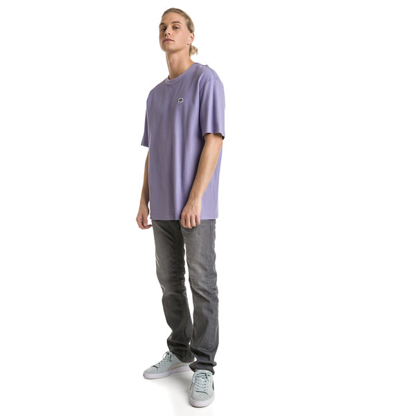 Downtown Men's Tee, Sweet Lavender, large