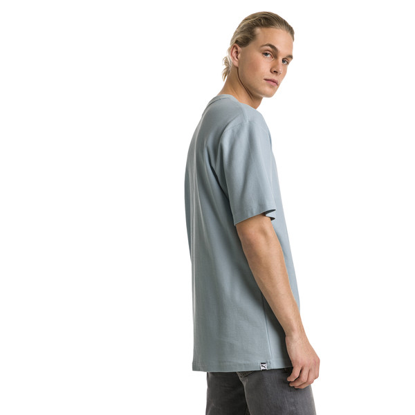 Downtown Men's Tee, Light Sky, large