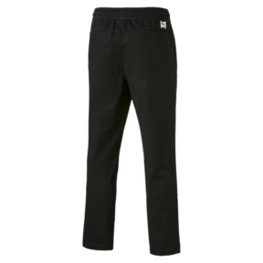 Thumbnail 5 of Downtown Twill Knitted Men's Sweatpants, Cotton Black, medium