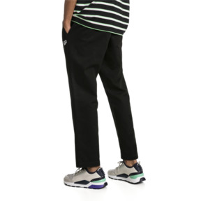 Thumbnail 2 of Downtown Men's Twill Pants, Cotton Black, medium